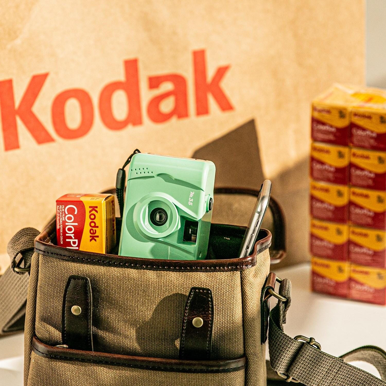 Kodak M35 코닥 필름 토이카메라 Mint + 컬러플러스 필름 200-36, M35 Mint + 컬러플러스 필름