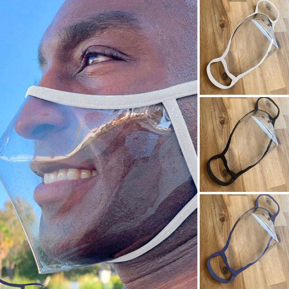 목욕탕 수영장 마스크 [입보이는마스크] 입모양 투명 방수 마스크, 02.검정색