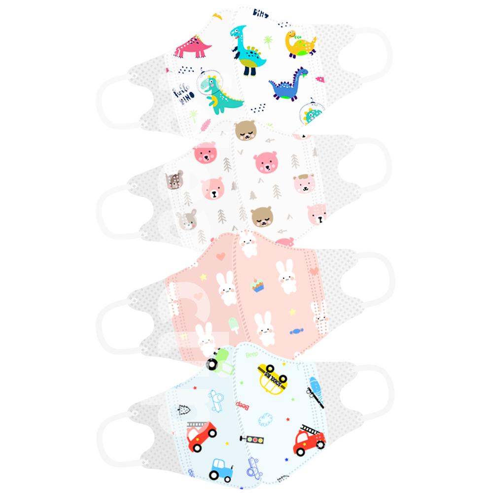 아이가드 캐릭터 어린이 유아용 소형 초소형 30매 3D 마스크, 붕붕이 초소형 30매