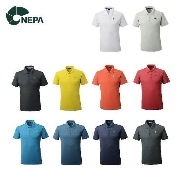 네파 남성 에티카 카라 티셔츠(7E35241)