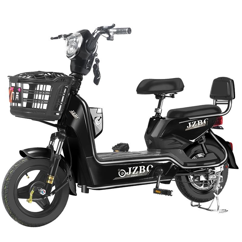 접이식 전기자전거 여성 3인용 배달용 전동자전거 전기바이크 Fanrui 2인용 전동스쿠터, 적나라한 차 배터리 없음 충전기 없음 선물 없음, 48V
