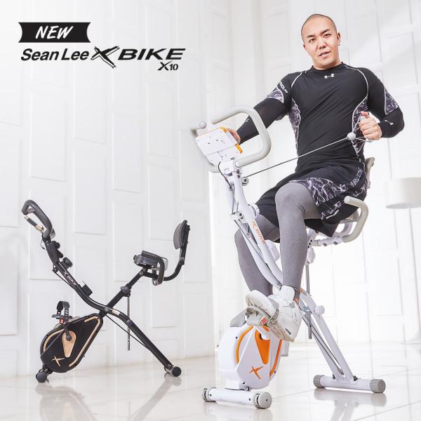 [이화에스엠피] NEW 숀리 엑스바이크 x10 엑스텐 실내자전거 더블코어밴드장착, 색상:화이트, 상세 설명 참조