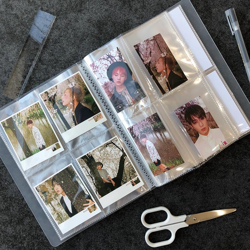 굿슈머 포카바인더 4포켓 엽서 포토카드 바인더