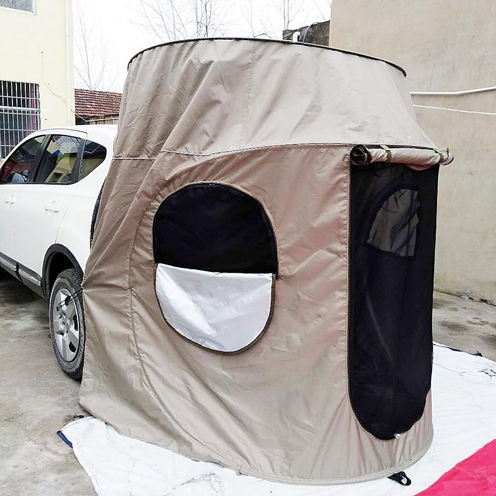 모닝 차박텐트 티볼리 스파크 레이 올뉴카니발 꼬리텐트 카캠핑 원터치 SUV, d. 솔져