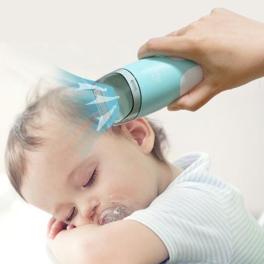 저소음 유아 이발기 세트 자동흡발 아기 충전 가능, A-101