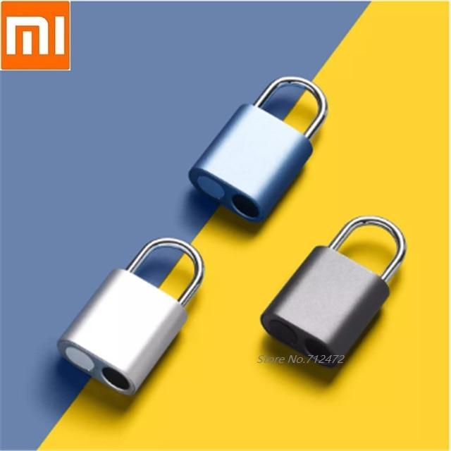 새로운 nocloc 스마트 지문 자물쇠 홈 기숙사 캐비닛 잠금 수하물 전자 도난 방지 잠금 IPX7 방수 스마트 리모콘 , 1개, 단일