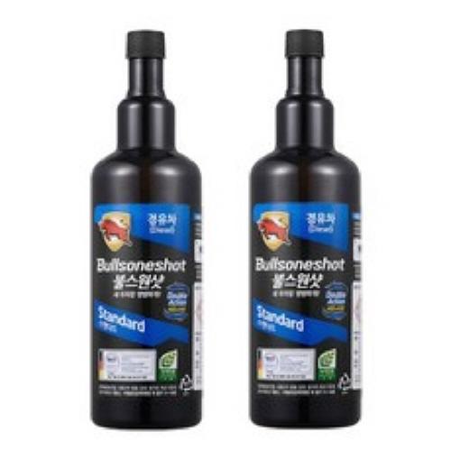 불스원 불스원샷 스탠다드 연료첨가제 가솔린 500ml, 1set, 불스원샷(500ml) 경유용+경유용