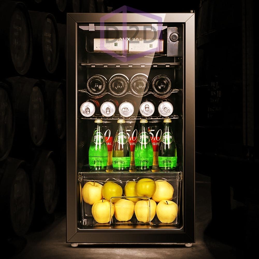 미니 냉장고 가정용 술냉장고 원룸 소형 자취1인 쇼케이스 소주 음료수 맥주 와인 술장고, 1)소형(50L)