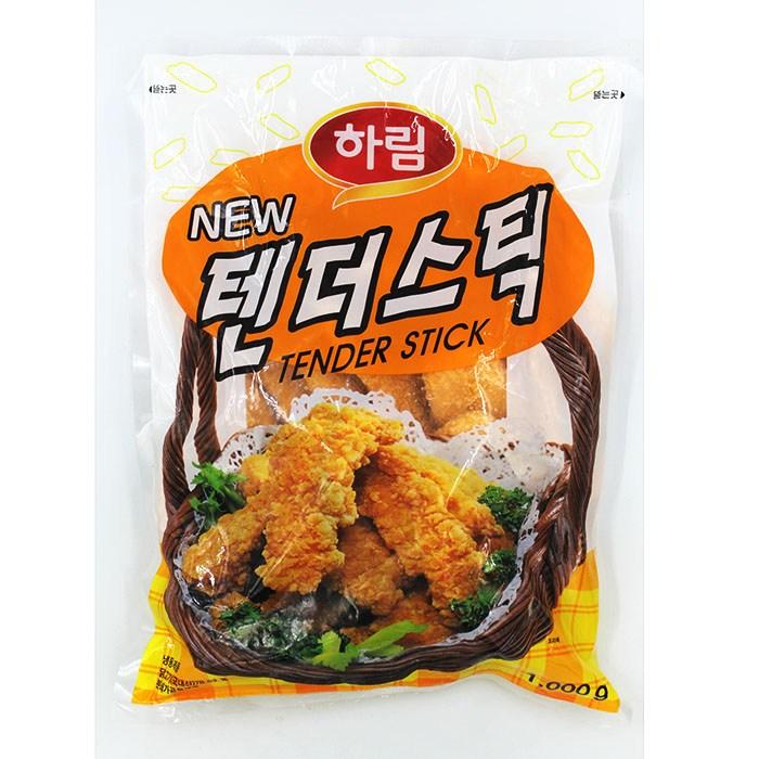 하림 텐더스틱 1kg(아이스박스.팩포함가), 1봉, 1000g