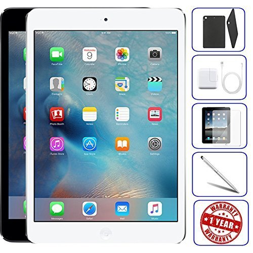 t401140 apple ipad mini 2 16gb 32gb 64gb 128gb - wifi | bundle includes: ca, one size, one color