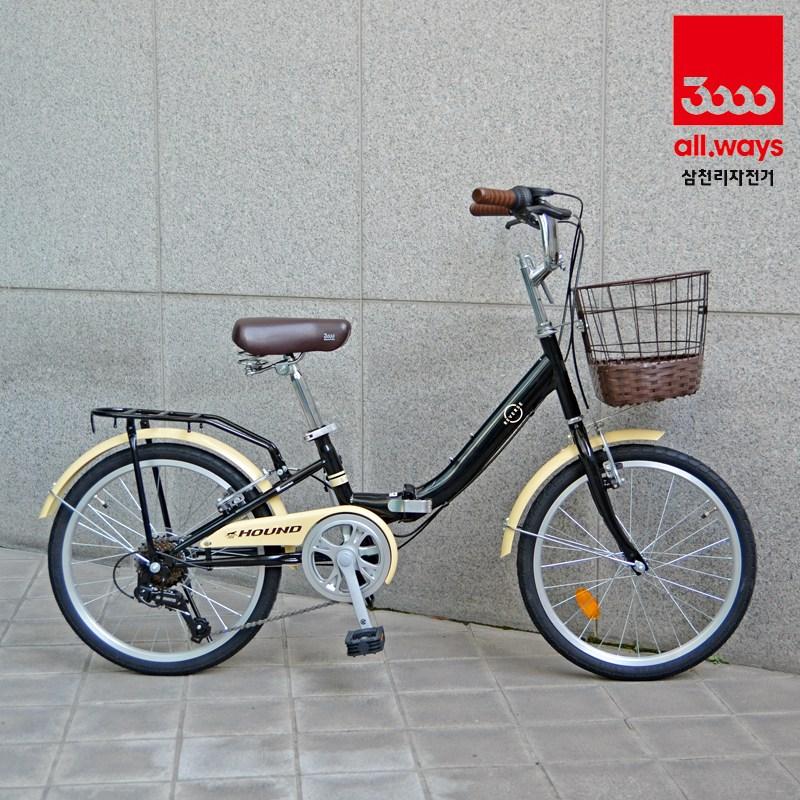삼천리자전거 20인치 접이식 미니벨로 자전거 리버스 라인(LINE), 블랙(1.세팅 및 점검-95프로조립)