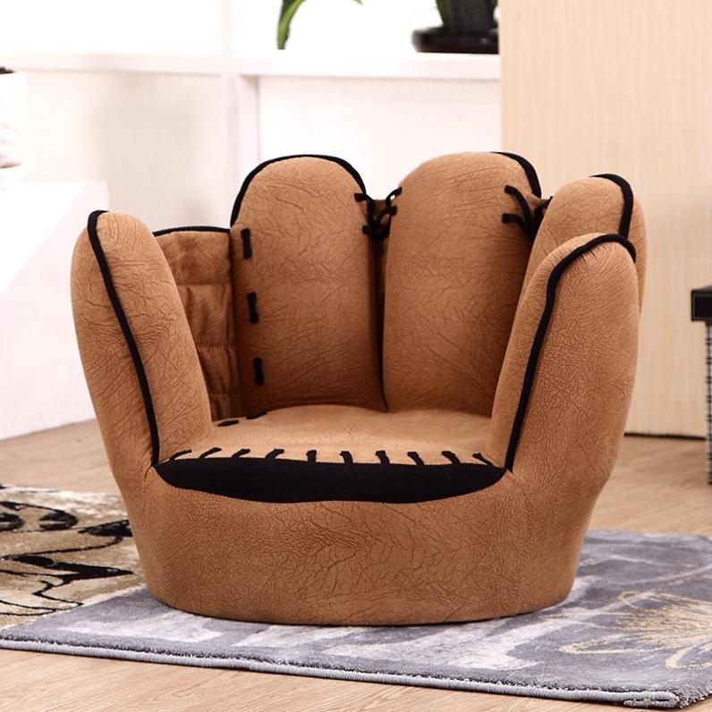 손가락 쇼파 쿠션 의자 체어 1인용 야구글러브 소파, 옵션1