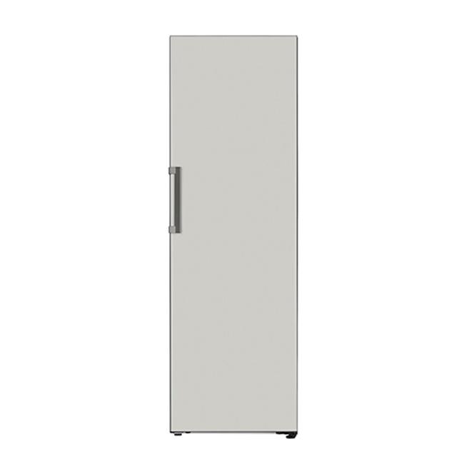 LG전자 오브제컬렉션 X320MGS 컨버터블 냉장고 1등급 네이처 메탈 그레이, 연결안함 (POP 5009660350)