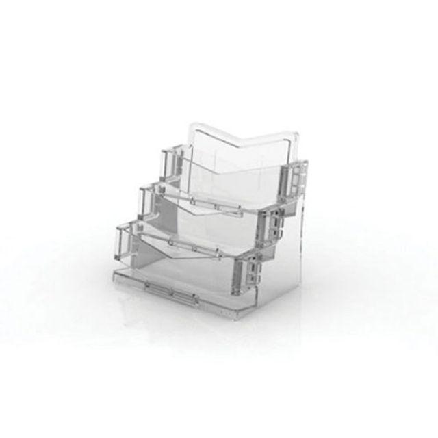 아트사인 아이홀더 명함꽂이 3단 투명 109x77x98mm BHC3003 4513