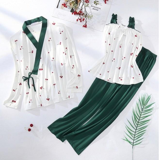 PJM-LHS 산후잠옷세트 순면 임부복 모유수유 잠옷세트