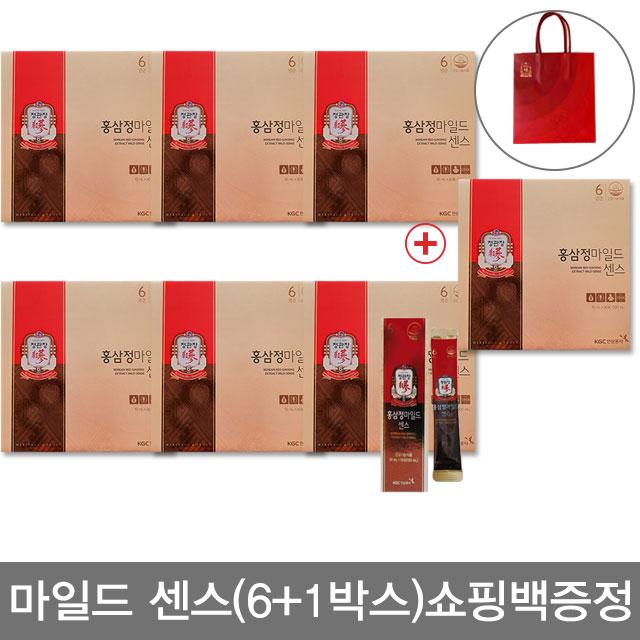 [기간한정]정관장 홍삼정마일드 센스 7박스+쇼핑백7, 상세설명 참조, 없음
