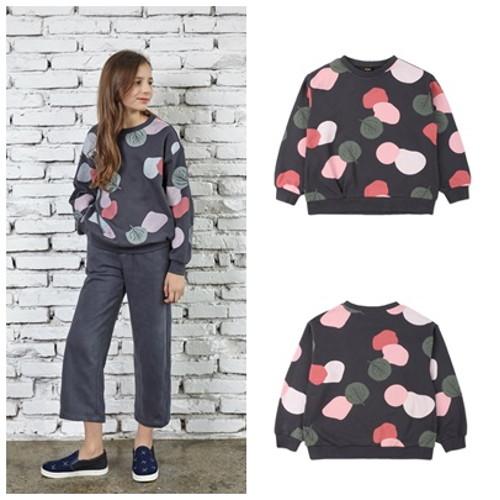 [블루테일]여아 팝 패턴 맨투맨 티셔츠 ATG6TS05CG