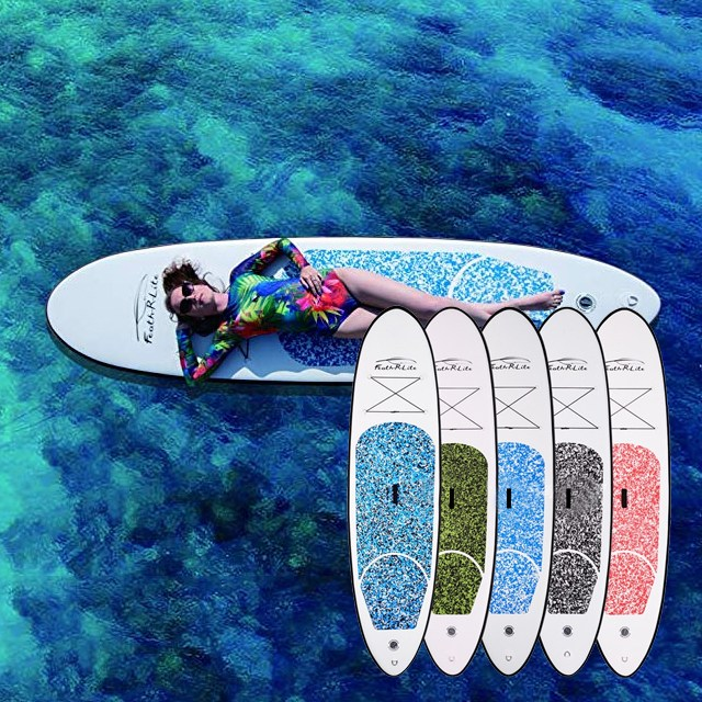sup 패들 보드 스탠드업 보트 서핑 보드 풀세트 캠핑클럽 이효리, 블루