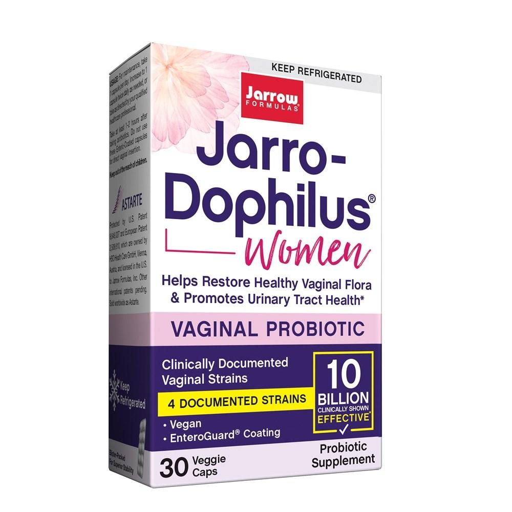 Jarrow Fomulas 자로우 도피러스 우먼 여성 유산균 100억 30베지 캡슐 (냉장 보관용), 1개, 30개입