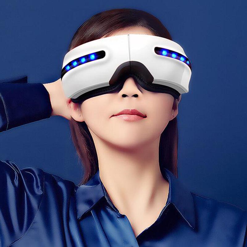 Leading 가정용 눈 마사지기 온열 휴대용 안구건조증 XF1622, 화이트