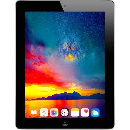 [아마존베스트]Apple iPad 4 9.7in Retina Display 16GB Wifi Tablet (Black) - MD510LLA (Refurbished) PR, One Color, One Color_One Size