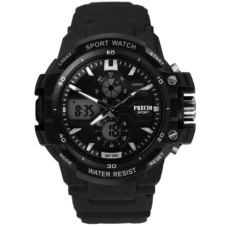 프레시오 전자손목시계 스포츠 남자 군인 군용시계 N90