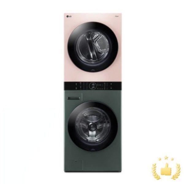 [LG전자] 워시타워 오브제컬렉션 W16GP [세탁기24KG+건조기16KG/드럼-그린 건조, 상세 설명 참조