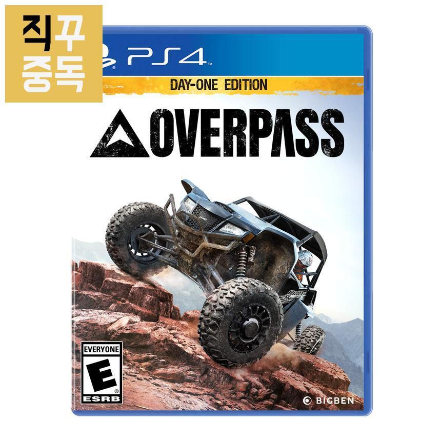 PS4 오버패스 Overpass 오프로드 레이싱, 단품