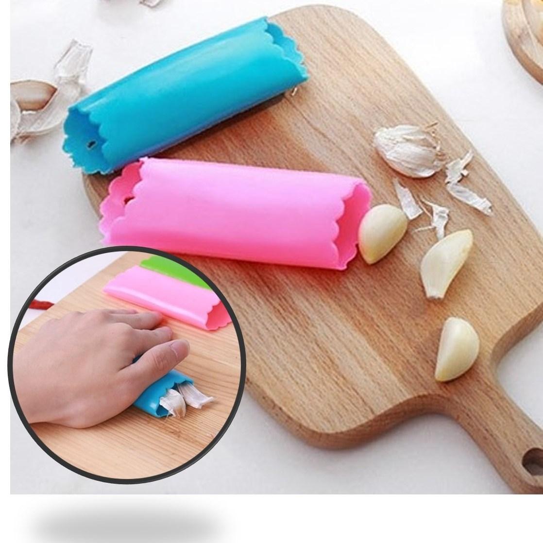 아임홈인 마늘 까는 기계 탈피기 깐 쪽분리기 선별기 껍질 도구 기구 제거, 핑크