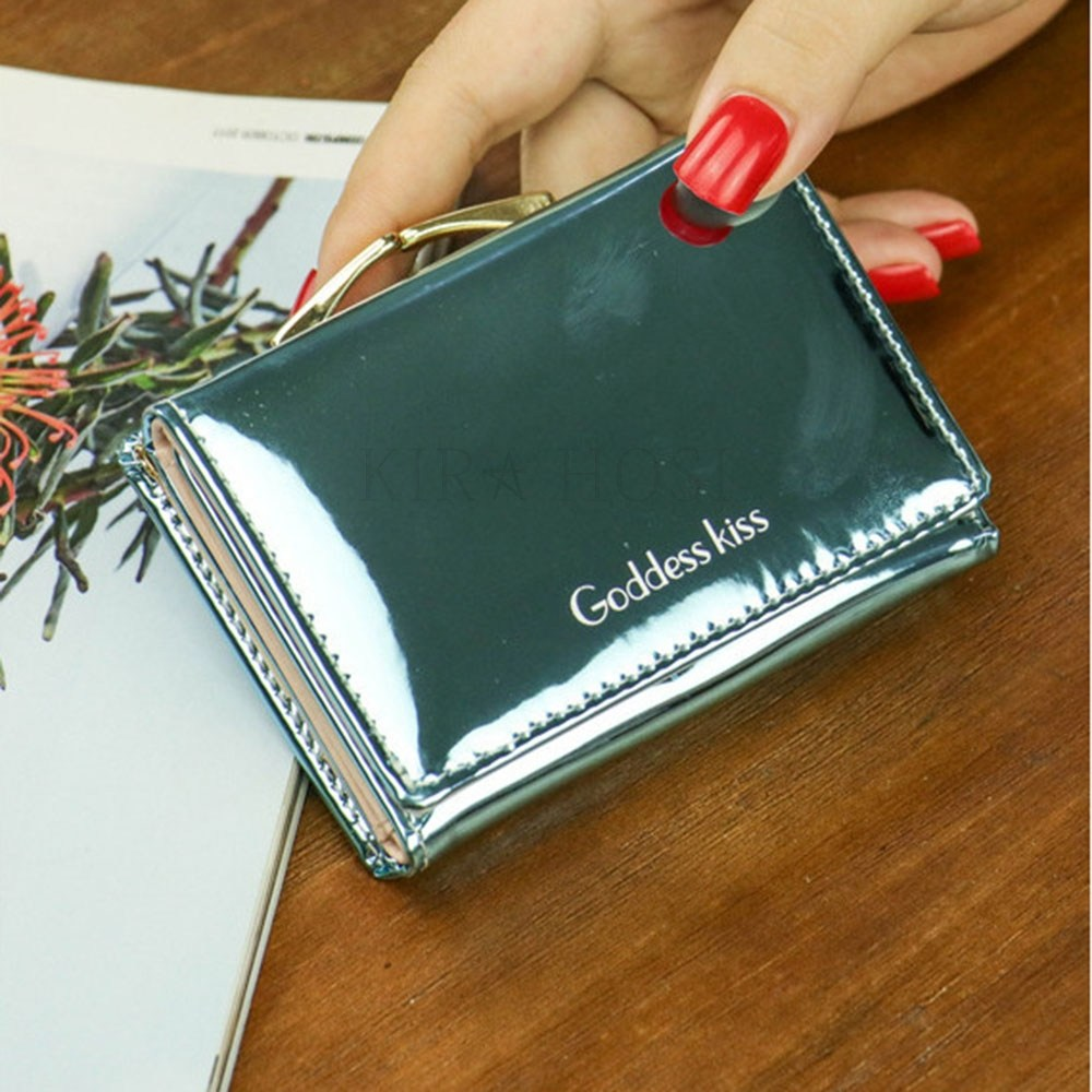 kirahosi 남성 여성 지갑 반지갑 비즈니스 카드 케이스 용돈 심플 17호 Lgj900