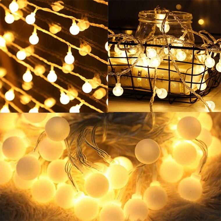 지식중심지_갬성 홈캠핑 LED 앵두전구 20구 3m (건전지타입) 크리스마스 전구_KH, 상세페이지 참조