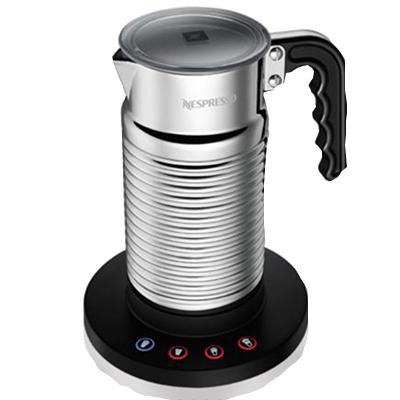 네스프레소 에어로치노 4 우유거품기 Nespresso Aeroccino4, 1개, 실버