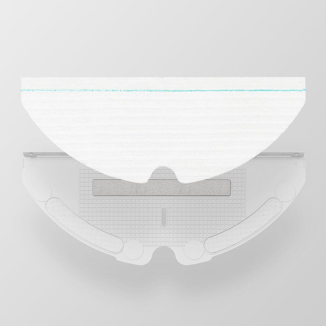 샤오미 로보락 샤오와 로봇청소기 정품 부품 소모품, 60개입, 1회용 물걸레 패드