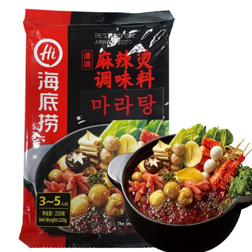 홍홍 중국식품 하이디라오 마라탕, 220g, 1개