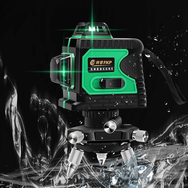 레이저 수평기 레벨기 레드 8라인 기본 360도 레이저측정기