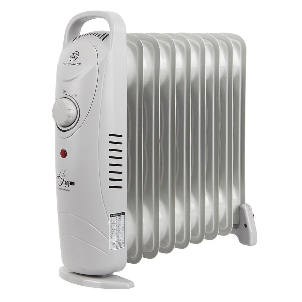 미니 라디에이터 9핀 전기히터 욕실난방기 HJO-M09, 단일상품