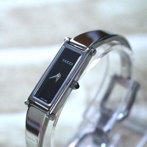GUCCI 정품 구찌 신품급 1500L 블랙 여성용 팔찌시계