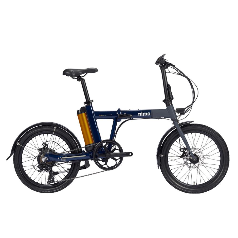 알톤 니모20인치 접이식 전기자전거 PAS겸용 스로틀방식 2020년, 니모20_그레이/네이비(파스+스로틀방식)