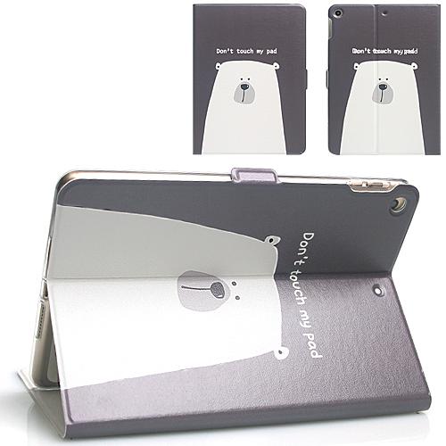 갤럭시탭E 8.0 케이스 T378 T377 T375, 1.E8.0-PO-001 블랙북극곰