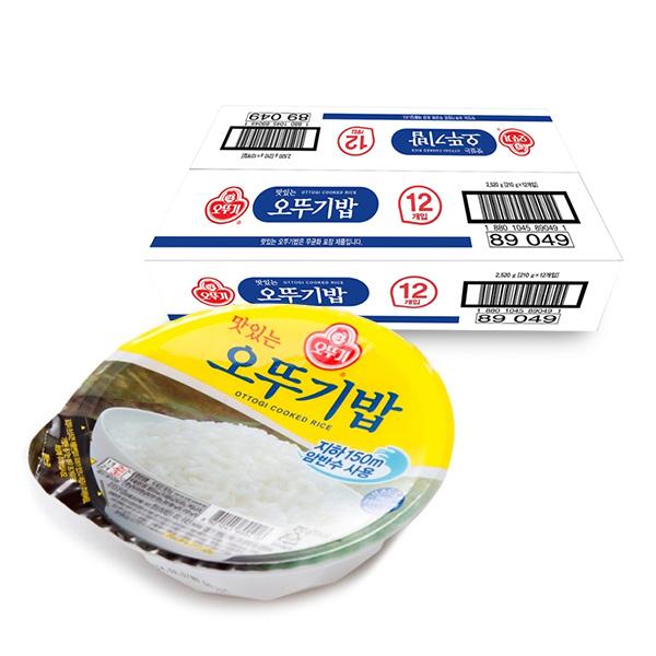 오뚜기 맛있는 오뚜기밥 210g*12, 2box, 210g