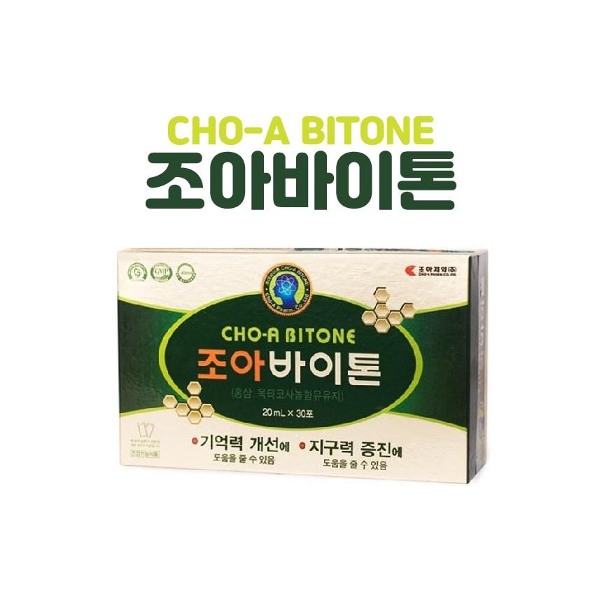 [조아제약] 조아바이톤 30포