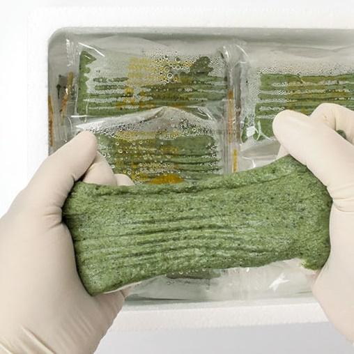 전남 영광 전통 100% 현미 쑥절편 쑥 떡 1kg, 현미쑥절편 1kg