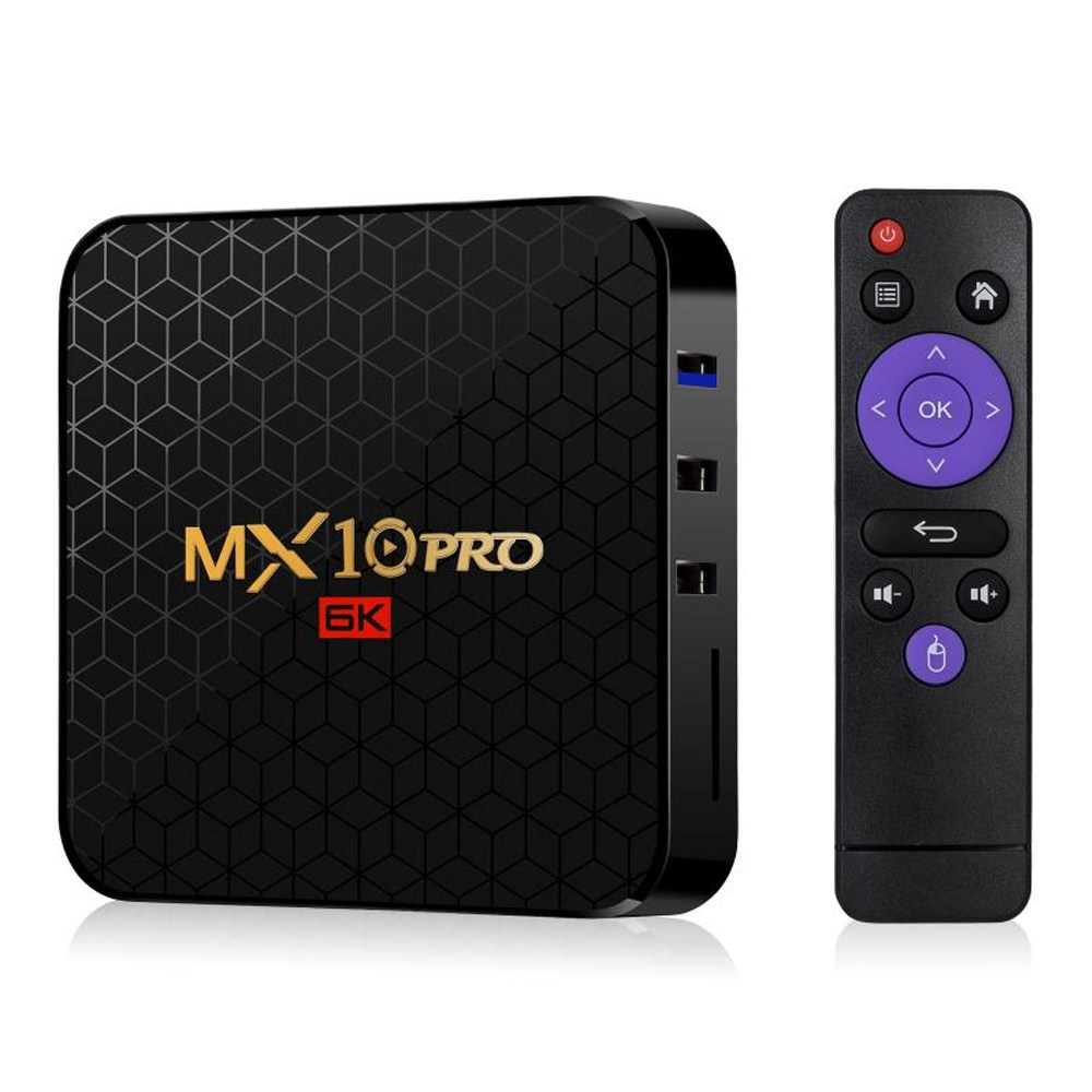 MX10 PRO 넷플릭스 6K지원 OTT UHD 셋탑박스 안드로이드 TV박스 셋톱박스 항공특송, MX10 PRO 32GB-구성 1