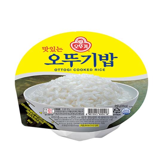 오뚜기 맛있는 오뚜기밥, 210g, 단품