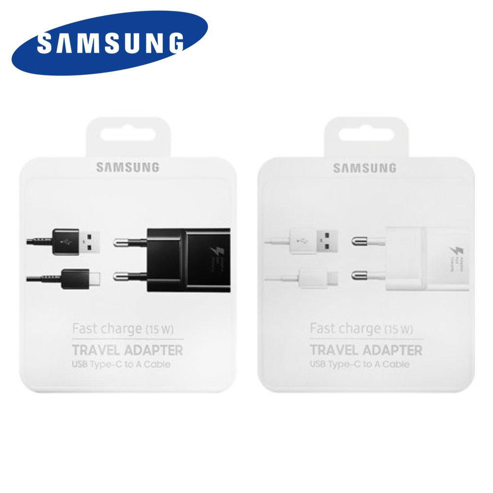 삼성정품 패키지 C타입 고속충전기 휴대폰 9V1.67A 15W C-Type Travel Adapter EP-TA20KWK EP-TA20KBK, 블랙, 1개