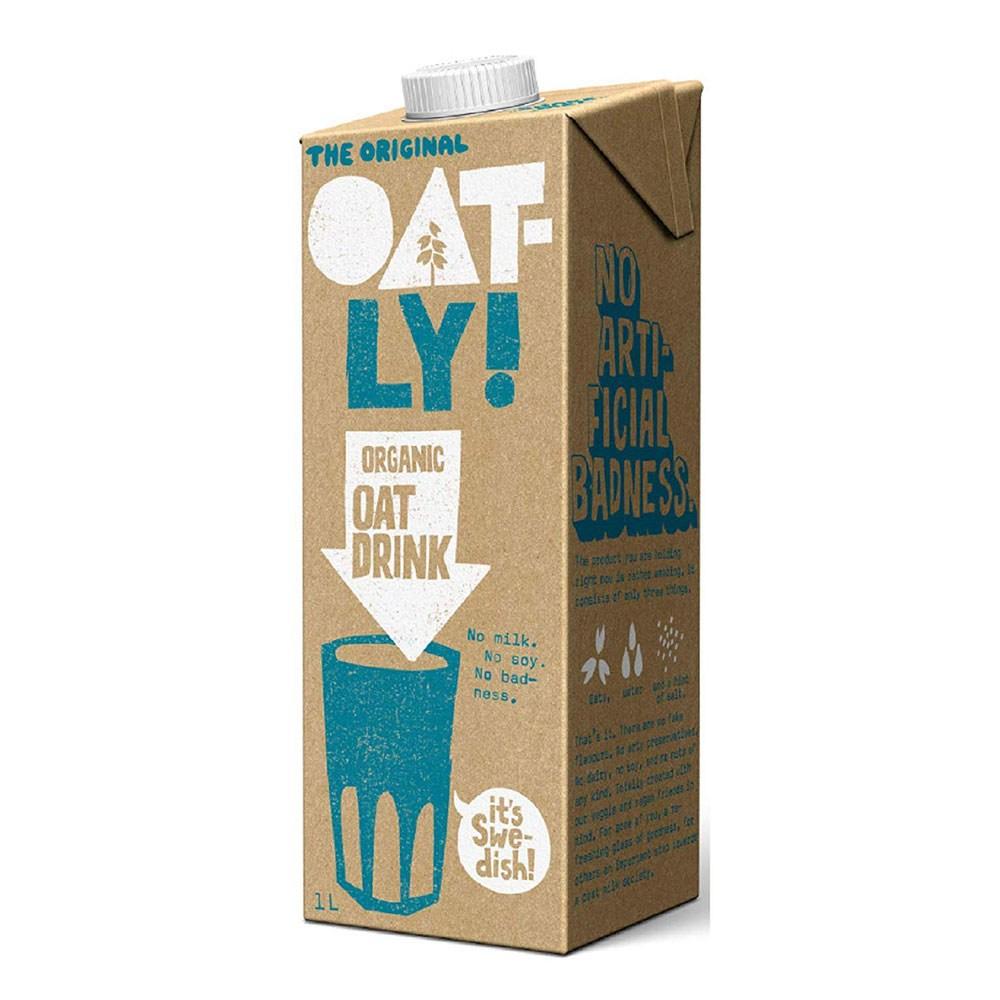 oatly 오틀리 오가닉 귀리 우유 오리지날 1L 6팩, 1개