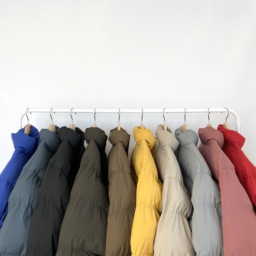 류미티드 (당일발송) [남녀공용] 10color 하이넥 웰론 숏 패딩