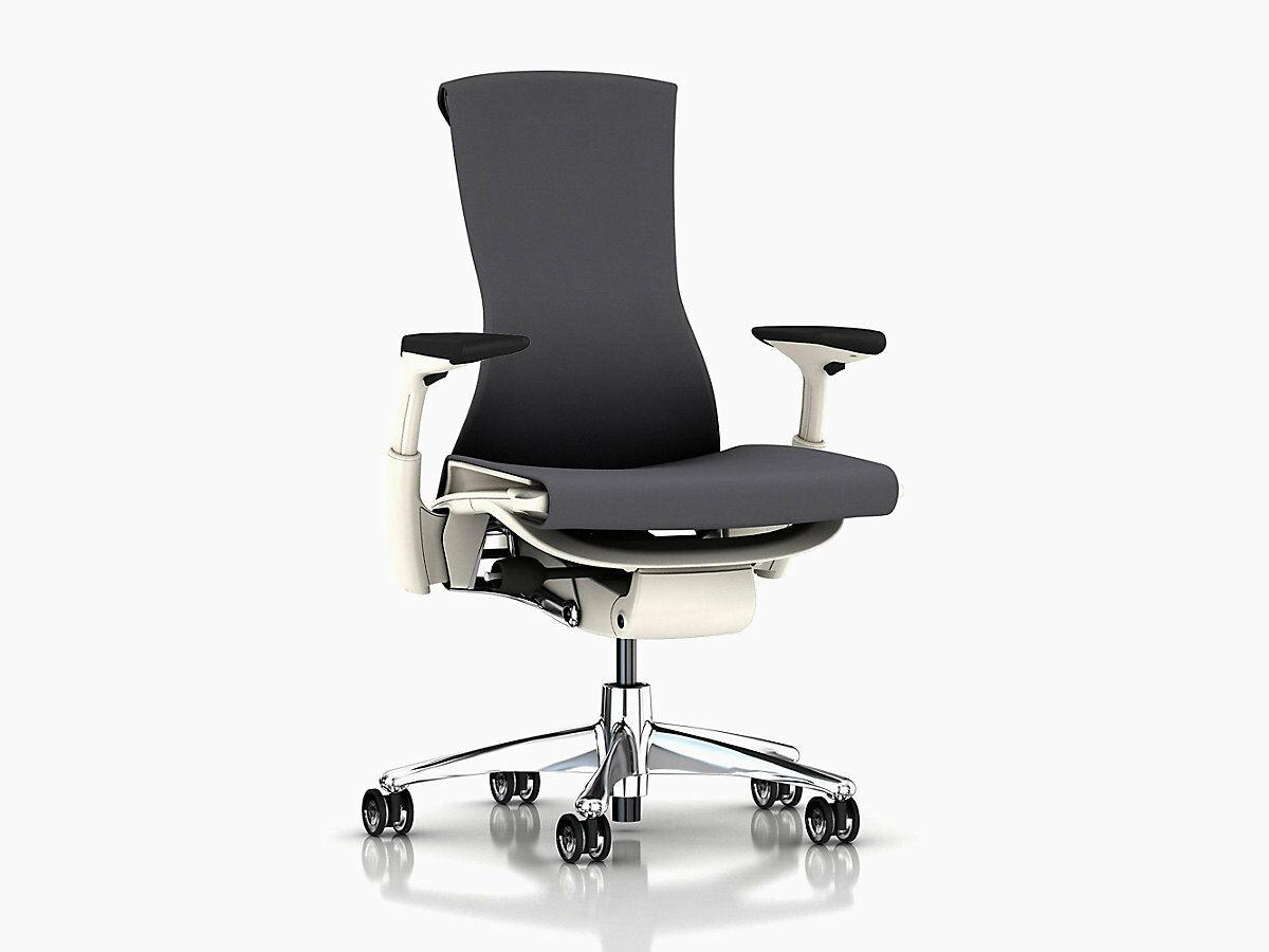 Embody Chair -By Herman Miller - Charcoal Rhythm - Brand New