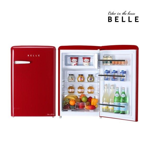 [벨] 레트로 냉장고 RS11ARD 110L 1등급 미니 소형냉장고 (레드), 상세 설명 참조 (POP 57958382)