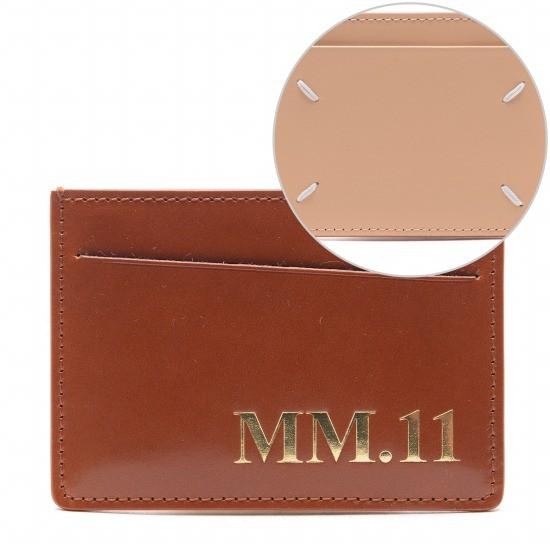 메종마르지엘라 20FW 남성 MM.11 스티치 카드지갑 S35UI0449_P0215_H8308_20F